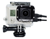 2015 New Hot Side openings protective shell housing Gopros Heros 3+/3 Camera Compatible side open housing GP30 GO PRO Fitting