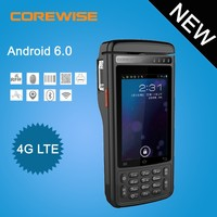 High Quality Precise biometric handheld pos devices with thermal printer\barcode scanner\NFC\IC Card reader\Smart card