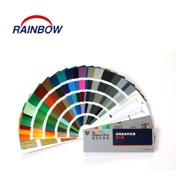 Standard fandeck color cards