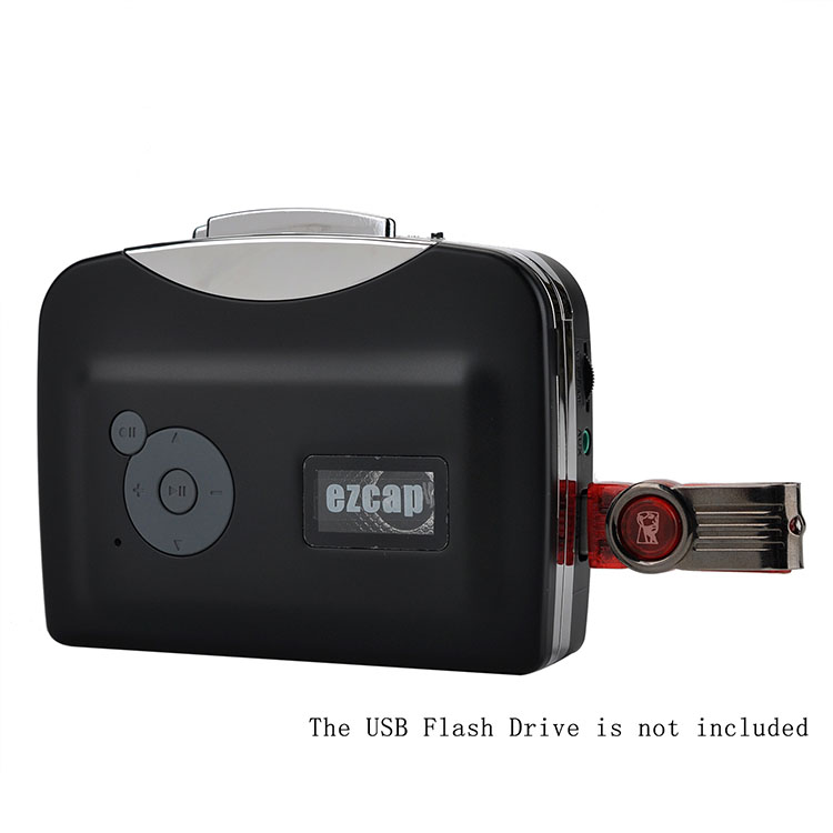 ezcap230 Converter tape to mp3 directly to USB Flash Drive no PC required audio cassette
