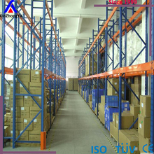 Blue&orange color Heavy duty warehouse pallet rack ,Narrow Aisle Pallet Racking For Warehouse