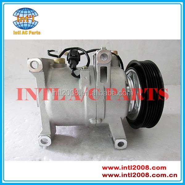58010-45010 92600-69Y00 car part ac compressor with 6PK Grooves for Infiniti G20 NISSAN NX SENTRA DKV14C