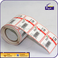 Custom self adhesive barcode label paper,scale label