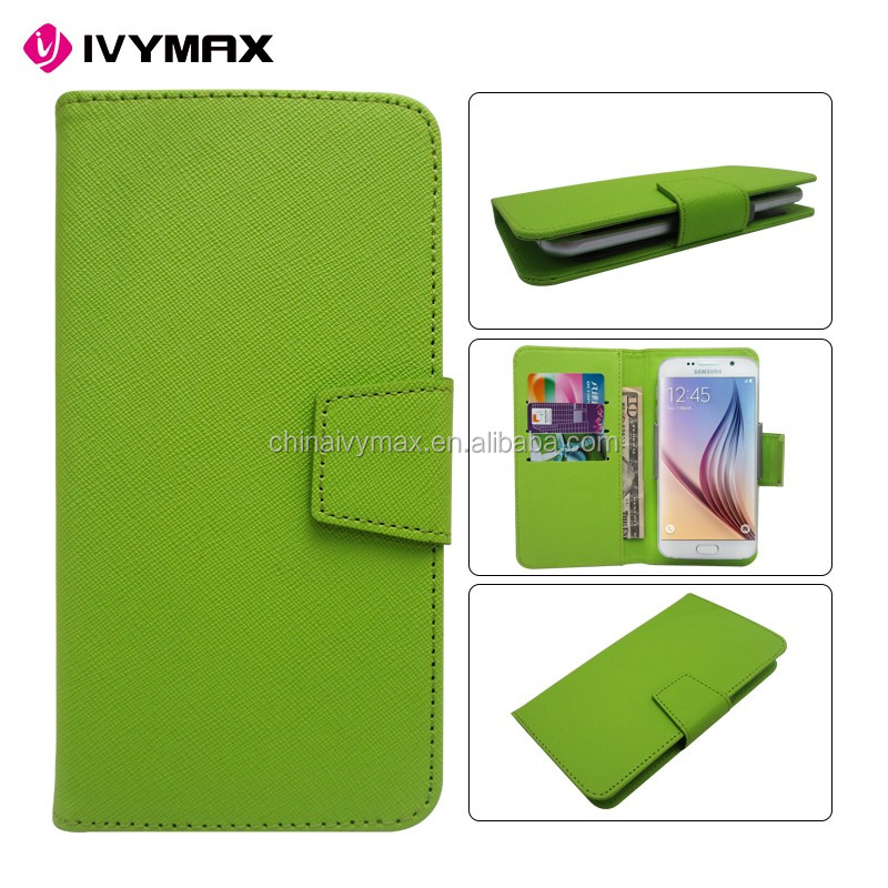 PU leather mobile phone case, universal wallet card holder flip case covers