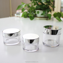 free samples 50ml plastic jars cosmetics packaging for skincare