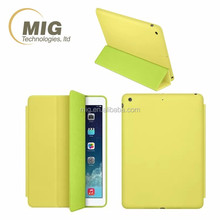 "Ultra Slim Tri-folding PU Leather Smart Stand Case Cover For apple iPad Pro 12.9"" hot sell 2016"