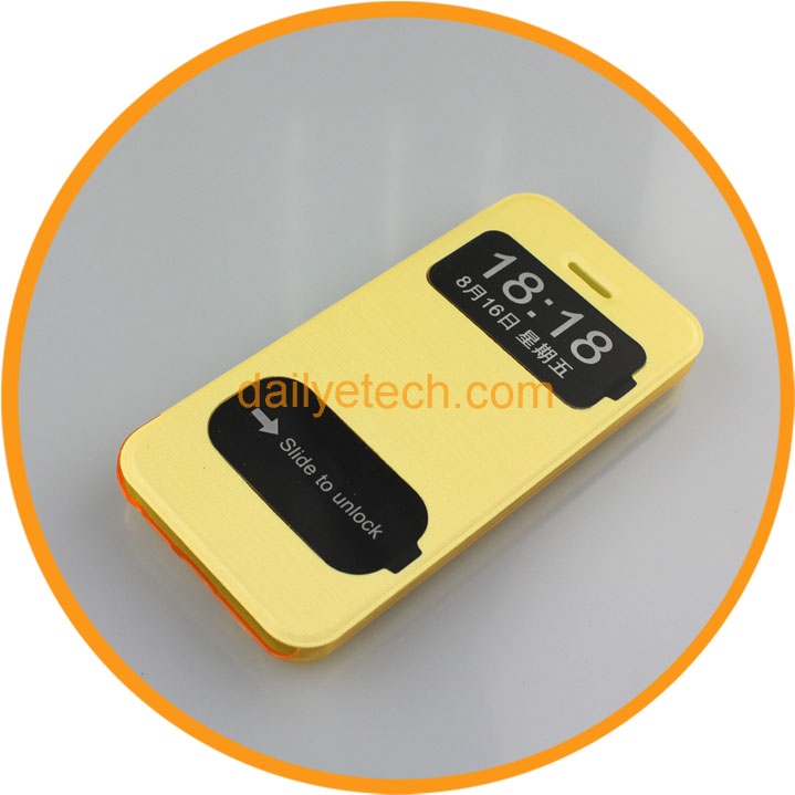 Hot Selling Phone Leather Case for iPhone5C from Dailyetech