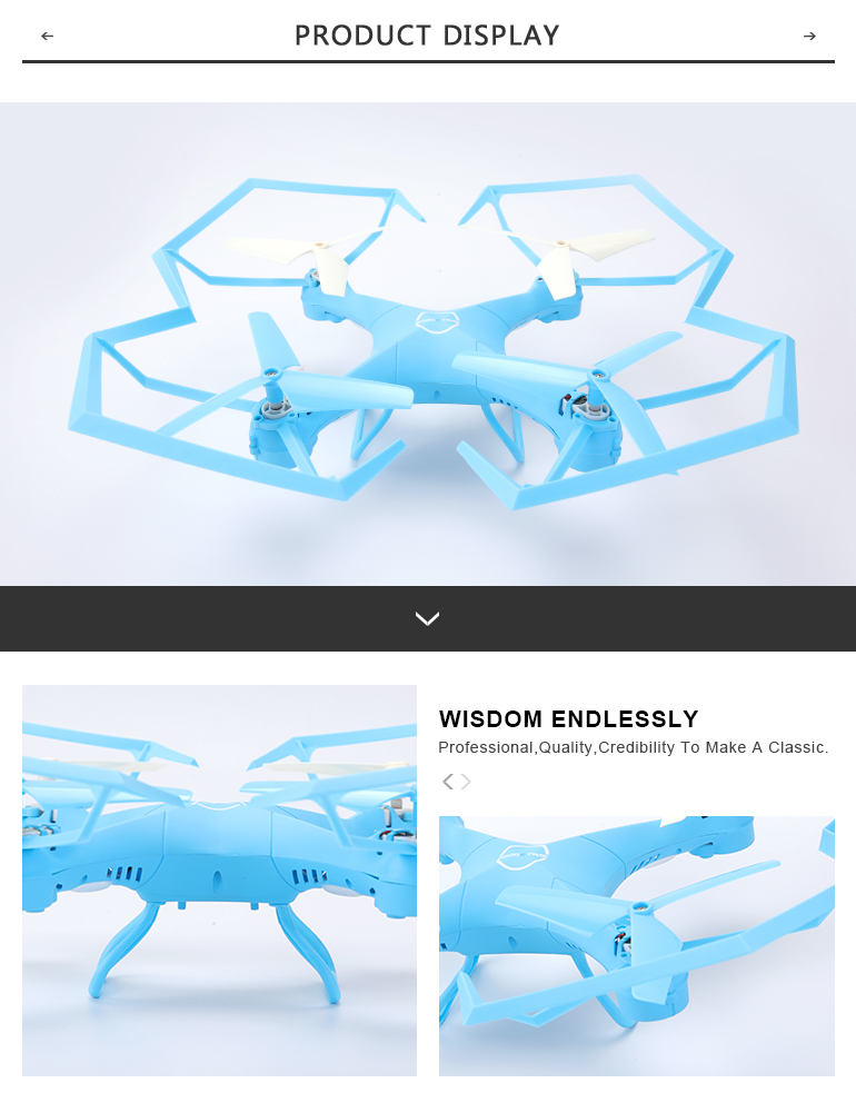 A22 Take videos camera quadcopter toys 2.4G electric rc plane drone