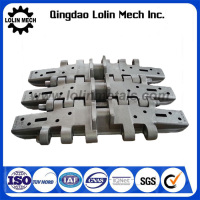 OEM high strength 1500mm alloy steel track shoe