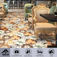 2015Promotional Classic Style 2015 Latest Design Customizable Foshan Factory Price Patchwork Tiles