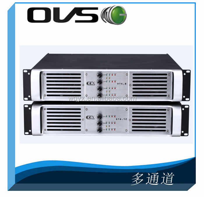 OVS 500W/ 4 channel /8 OHM (PD4.5)- 2000W Multi Channel Pro Sound System Speaker Amplifier