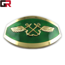 Top grade hot sale custom made brass belt buckles for wholesale