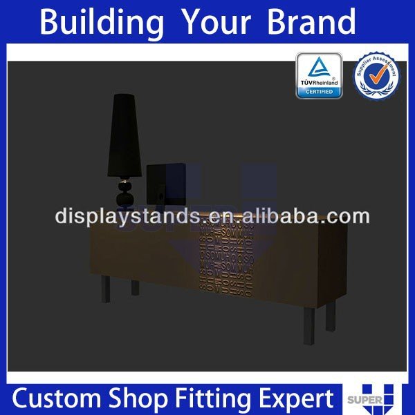 Customized Fashion clothes store cashier counter