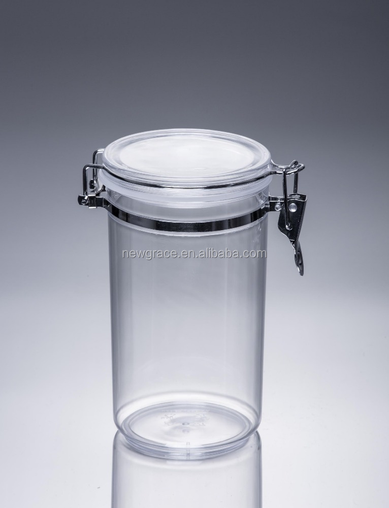 850ml Plastic box Supplier plastic food sealable clear plastic hinged food container