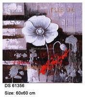 The best and popular abstract mechanism of thick oil painting flowers