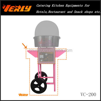 Hand Cart for Cotton candy machine (only the cart) VC-200