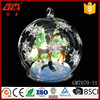 wholesale Christmas glass ball terrarium with Led
