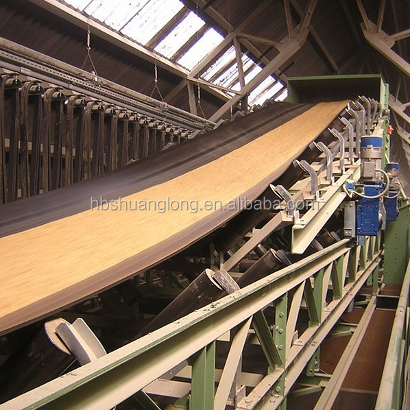 nylon/NN rubber conveyor belt for grain used