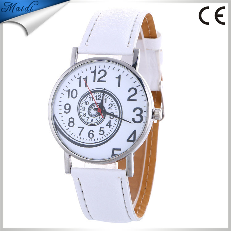 Hot Selling Creative Math Student Watchwrist Women Leather Black/Brown Fashion Band Strap Best Gift Quartz Watch LW067