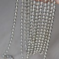 Steel 6mm Ballchain Metal Beaded chains for necklace