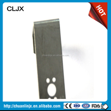 Steel Structure Building Sheet Metal Roofing Clipper Stamping Parts