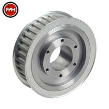 High precision customized small tensioner v belt timing belt pulley