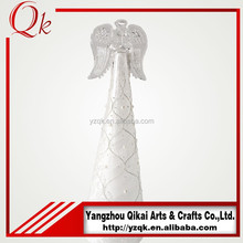 New style glass angel with LED light for home decoration