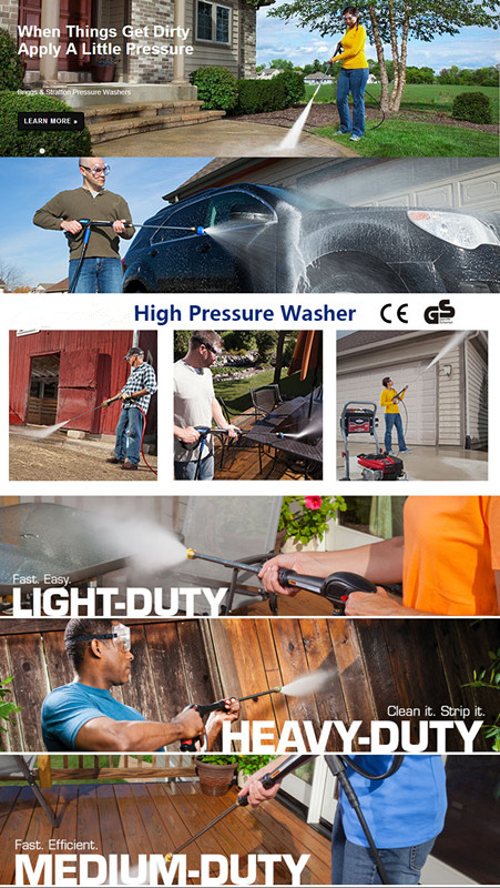 JZ818 household portable high pressure washer