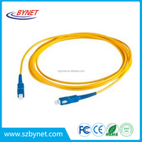 Sc Fiber Optic Patch Cord/ Pigtail/ Connector Manufacturer