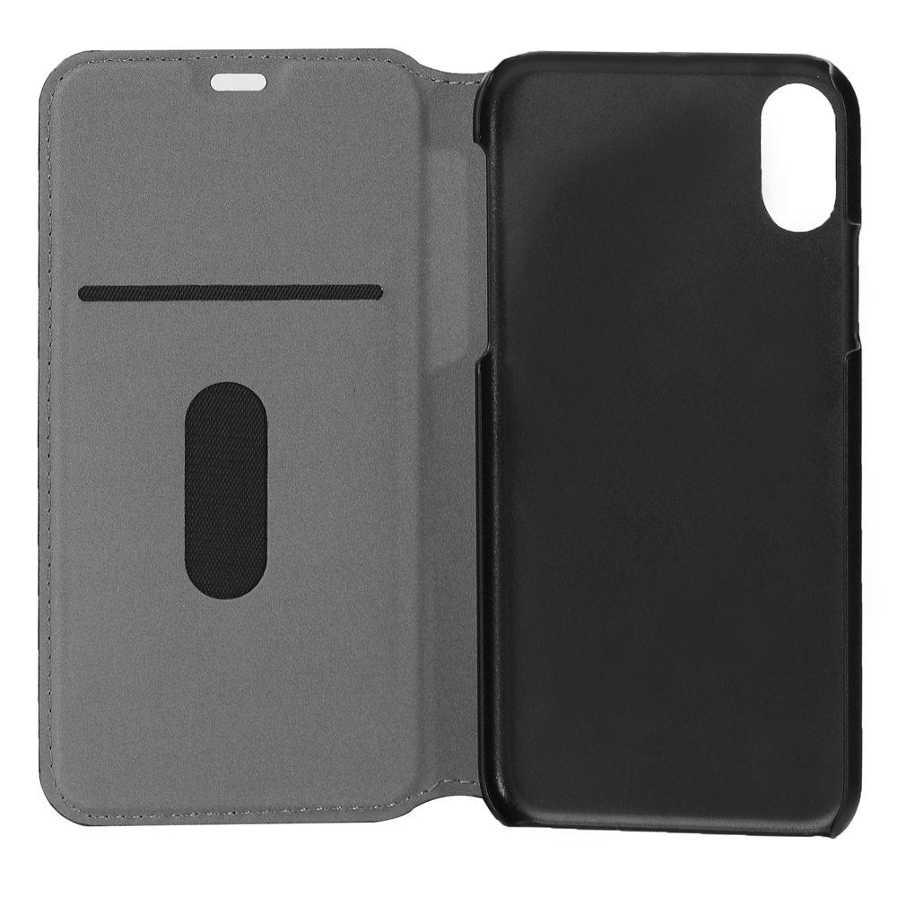 Ultra Thin Mobile Phone Flip Leather Case for iPhone X