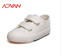 2015 new style children white canvas shoes non slip vulcanized kid shoes