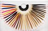 Wholesale 36 colors human hair color ring remy hair color chart