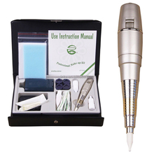 Permanent MakeUp Machine Pen tattoo kit For Eyebrows Make Up Microblading With micro Needles Ink tattoo Power Supply