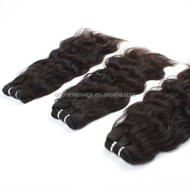 7A+ grade high quality virgin hair , natural hair weaves for black women with factory prieces