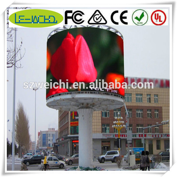 curve led display screen led dot 3d hd indoor p7.62 led video wall display screen