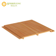 2018 Greenzone wpc pvc composite interior decorative pvc panel 165*H10mm building material china
