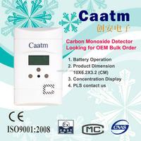 Battery low alert CO sensor carbon monoxide carbon monoxide detector mini carbon monoxide detector
