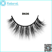 Top manufacturer eye lashes mink 3D mink fur lashes own brand