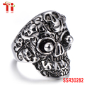 aibaba com wholesale diamond engagement ring sterling silver jewelry stainless steel skull mens rings bands