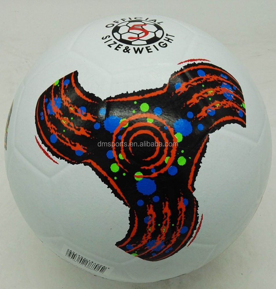 Xidsen Rubber smooth surface Football size 5,Colorful soccer ball,good quality rubber balls