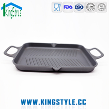 Cooking appliances aluminium utensils square cooking grill plate