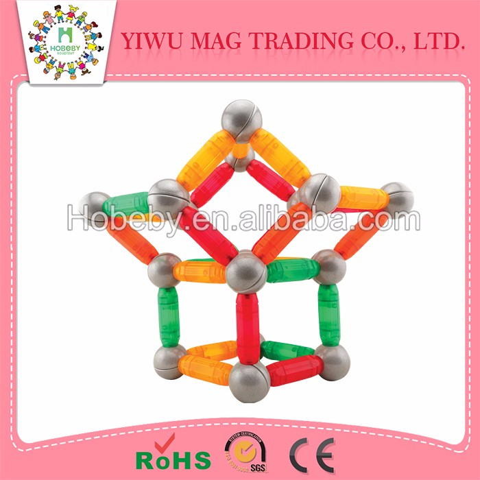 China factory cheap price magnetic rods and balls and magnetic toy
