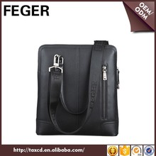 Hot Fashion Low Quantity Mens Cow Leather Conference Hand Bag