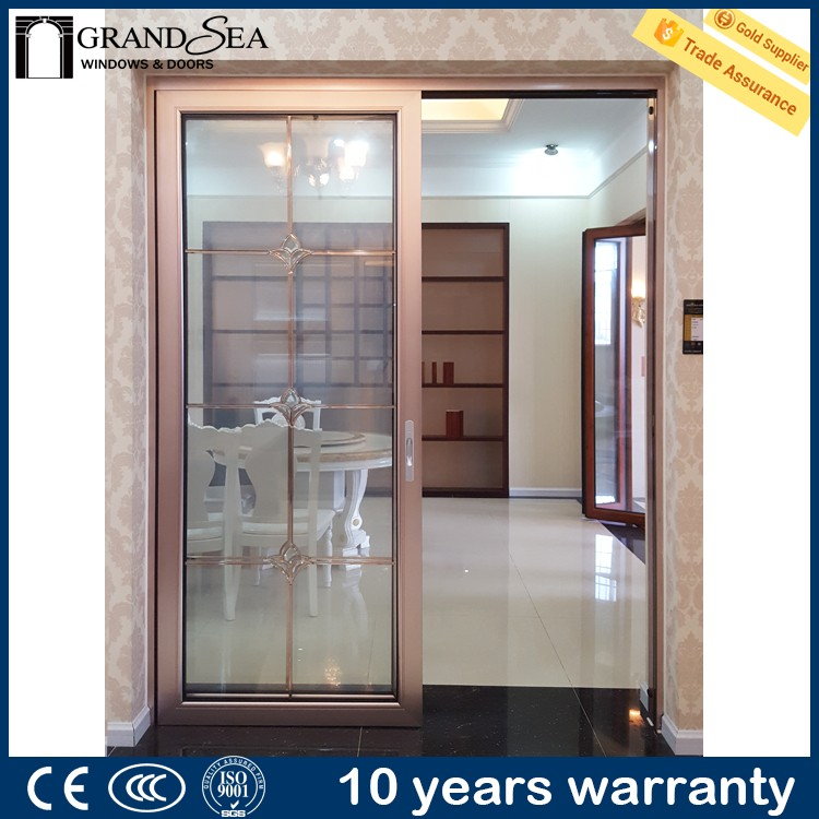 China manufacturer exterior balcony glass automatic commercial sliding