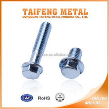 zinc coated hardened steel custom made class 8.8 bolt