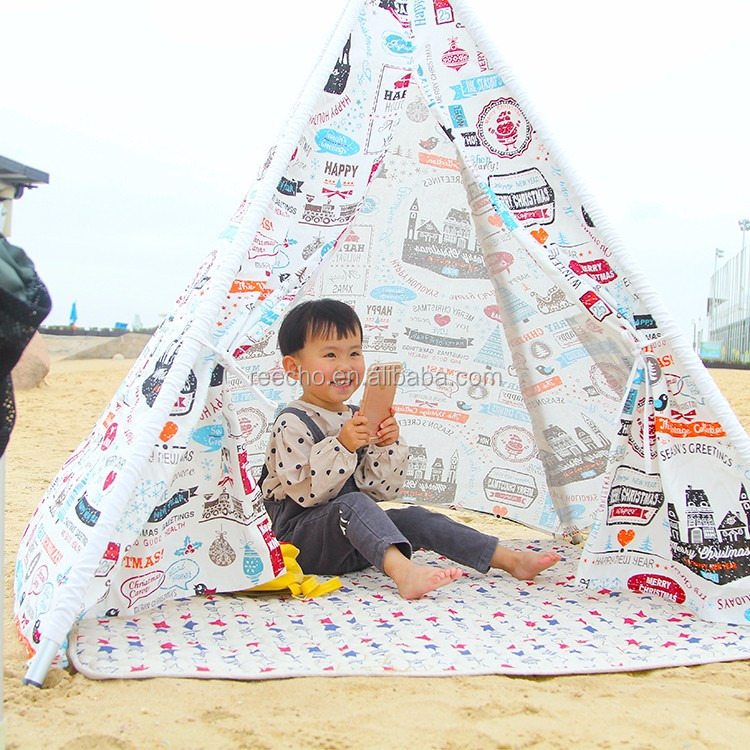 100% Cotton And Beautiful Fabric Dome Shaped Tents