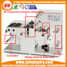 Blank Label Rotary Die Cutting Slitting and Rewinding Machine