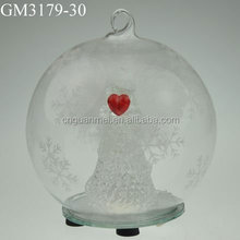 decorative christmas round ball ornament for hanging