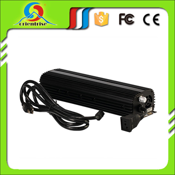 hydroponic indoor growing light high output super lumen 1000W dimmable electronic ballast
