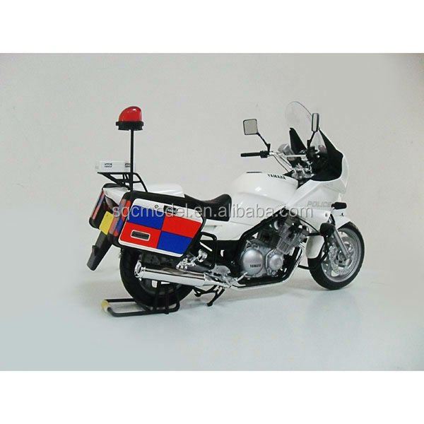Custom 1:6 scale metal die cast XJ900P motorcycle for collection toy models